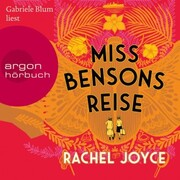 Miss Bensons Reise (Autorisierte Lesefassung) - Cover