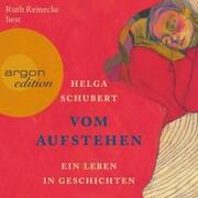 Vom Aufstehen - Ein Leben in Geschichten (Ungekürzt) - Cover