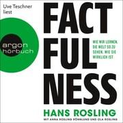 Factfulness - Wie wir lernen, die Welt so zu sehen, wie sie wirklich ist (Ungekürzte Lesung) - Cover