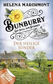 Bunburry - Der heilige Sünder - Cover