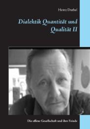 Dialektik Quantität und Qualität II