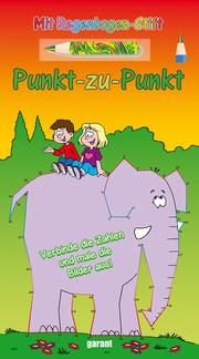 Punkt-zu-Punkt mit Stift - Elefant