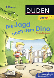 Duden Leseprofi - Die Jagd nach dem Dino - Cover