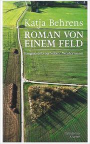 Roman von einem Feld - Cover