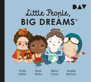 Little People, Big Dreams 3: Frida Kahlo, Rosa Parks, Marie Curie, Amelia Earhart - Cover