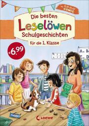 Die besten Leselöwen-Schulgeschichten für die 1. Klasse - Cover