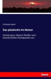 Das plastische im Homer