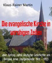 Die evangelische Kirche in unruhigen Zeiten - Cover