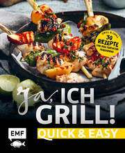 Ja, ich grill! - Quick and easy - Cover