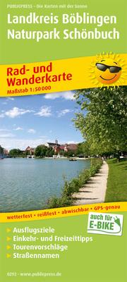 Landkreis Böblingen - Naturpark Schönbuch, Herrenberg - Sindelfingen - Tübingen - Cover