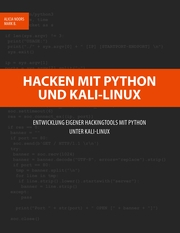 Hacken mit Python und Kali-Linux - Cover