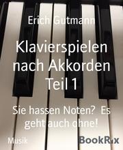 Klavierspielen nach Akkorden Teil 1 - Cover