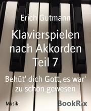 Klavierspielen nach Akkorden Teil 7 - Cover
