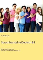 Sprachbausteine Deutsch B2 - Cover
