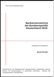 DEUTSCHES BANKENVER-ZEICHNIS 2020