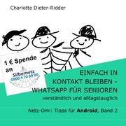 Einfach in Kontakt bleiben - WhatsApp für Senioren (Android) - Cover