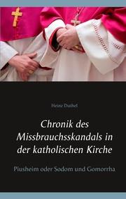 Chronik des Missbrauchsskandals in der katholischen Kirche