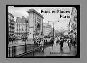 Rues et Places - Paris