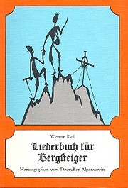 Liederbuch für Bergsteiger - Cover