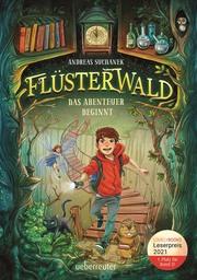 Flüsterwald - Das Abenteuer beginnt - Cover