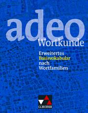 adeo Wortkunde - Cover