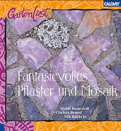 Fantasievolles Pflaster und Mosaik