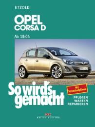 Opel Corsa D - Cover