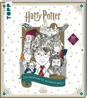 Harry Potter - Zauberhafte Ausmalwelt
