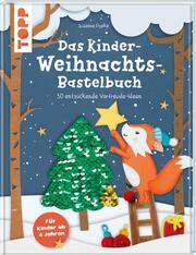 Das Kinder-Weihnachtsbastelbuch - Cover