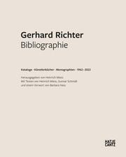 Gerhard Richter. Bibliographie