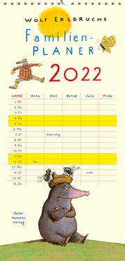 Wolf Erlbruchs Familienplaner 2022 - Cover