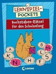 Lernspiel-Pockets - Buchstaben-Rätsel für den Schulanfang - Cover