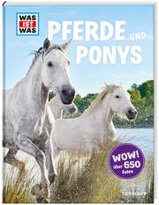 WAS IST WAS Pferde und Ponys - Cover