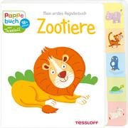 Mein erstes Registerbuch. Zootiere