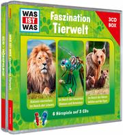 WAS IST WAS 3-CD-Hörspielbox Faszination Tierwelt