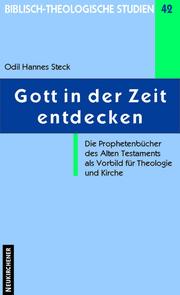 Gott in der Zeit entdecken - Cover