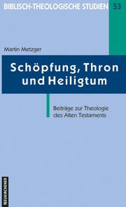 Schöpfung, Thron und Heiligtum - Cover