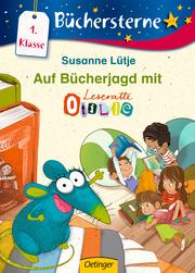 Auf Bücherjagd mit Leseratte Otilie - Cover