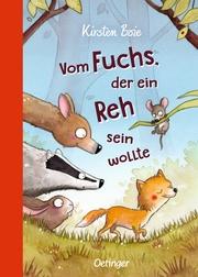 Vom Fuchs, der ein Reh sein wollte - Cover