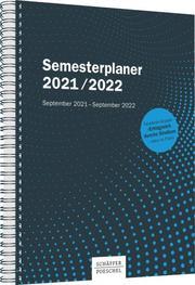Semesterplaner 2021/2022 - Cover