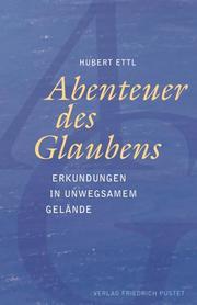 Abenteuer des Glaubens - Cover