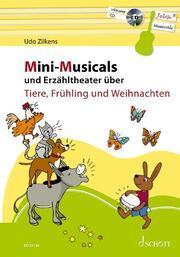 Mini-Musicals und Erzähltheater über Tiere, Frühling und Weihnachten
