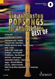 Die schönsten Popsongs für Alt-Blockflöte BEST OF