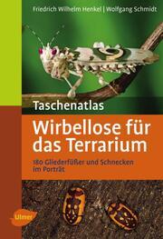 Taschenatlas Wirbellose für das Terrarium - Cover