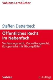 Öffentliches Recht im Nebenfach - Cover