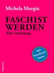 Faschist werden - Cover