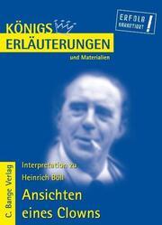 Erläuterungen zu Heinrich Böll: Ansichten eines Clowns