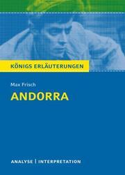 Andorra von Max Frisch. - Cover