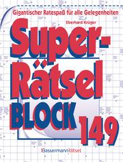 Superrätselblock 149 - Cover