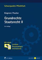 Grundrechte. Staatsrecht II - Cover